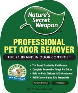 sprayer cat urine odor remover